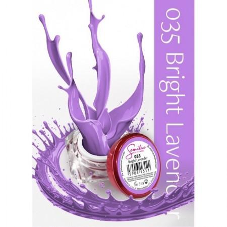 Gel color Semilac 035 Bright Lavender