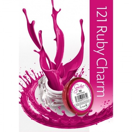 Gel color Semilac 121 Ruby Charm