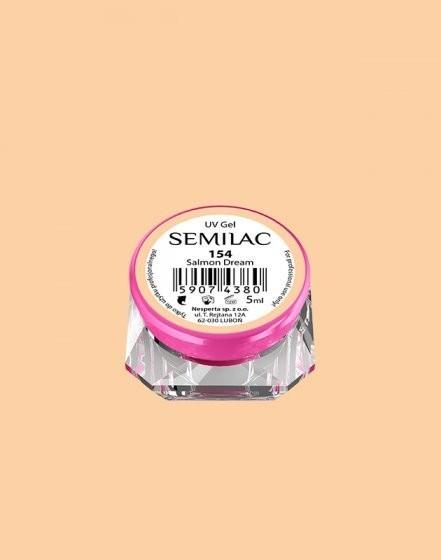 Gel color Semilac 154 Salmon Dream