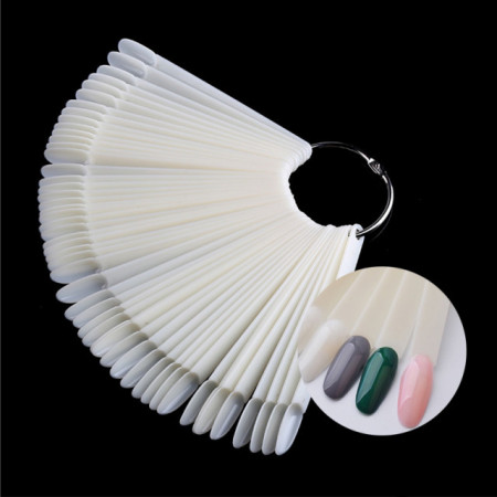 Paletar 50 tipsuri de prezentare- Oval Natural