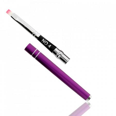 Pensula tip stilou #4 Violet