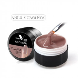 Builder Gel VENALISA 15 ML – Gel de construcție – Cover Pink v304