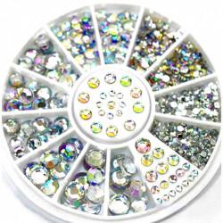 Carusel cristale cu reflexii