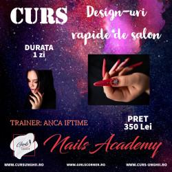 """Curs """"Design-uri rapide de salon"""" - ANCA IFTIME"""