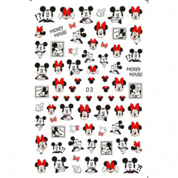 Decor unghii Mickey Mouse D003