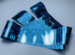 Folie de transfer albastra cu reflexii