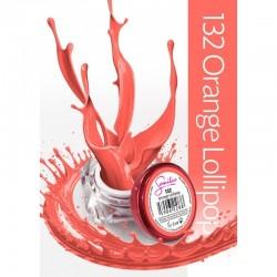 Gel color Semilac 132 Orange Lollipop