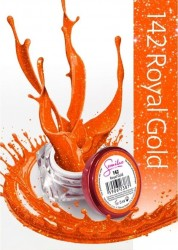 Gel color Semilac 142 Royal Gold