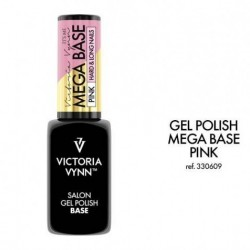 Mega Base Pink Victoria Vynn 8 ml (Rubber Base)