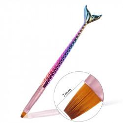 Pensula gel UV Aqua Energy #6