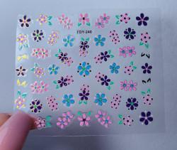 Sticker 3D FDY 240