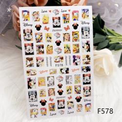 Sticker F578 DISNEY / MICKEY