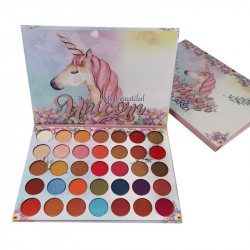 Trusa Profesionala de Farduri My Beautyful UNICORN Gelanzi, 35 colors