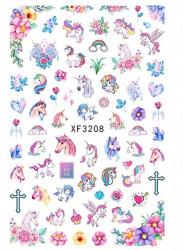 Decor Tatuaj Unicorn XF3208