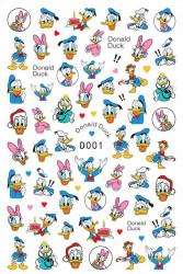 Decor unghii Donald Duck D001
