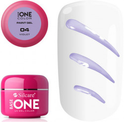 GEL COLOR BASE ONE PAINT 5g - 04 Violet