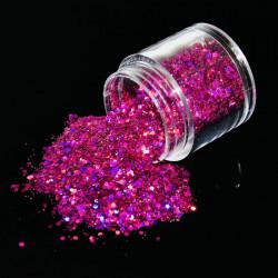 Glitter Bomb fucsia
