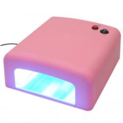 Lampa uv 36w Roz cu 4 neoane - LILAC