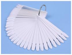 Paletar 50 tipsuri de prezentare Oval White