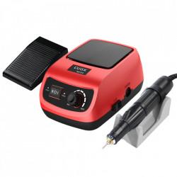 Pila electrica, freza unghii, L'UGX, rosie, 45.000 rpm, 60 W
