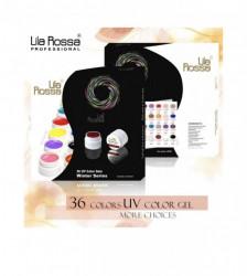 Set 36 geluri color Winter Series Lila Rossa Professional