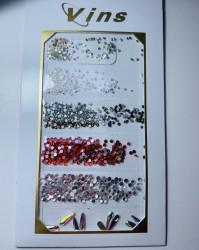 Set mix cristale diferite culori si forme
