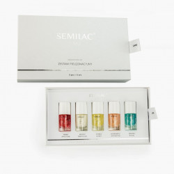 Set tratament pentru unghii Care Set Semilac, 5 x 7 ml - Semilac Care Set