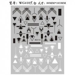 STICKER UNGHII - WG418