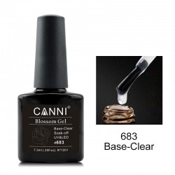 BASE COAT CANNI blossom - Transparent #683