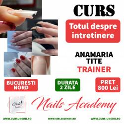CURS TOTUL DESPRE INTRETINERE - ANAMARIA TITE