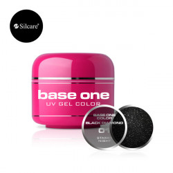 Gel color Base One 5g Black Diamond Starry Night *01