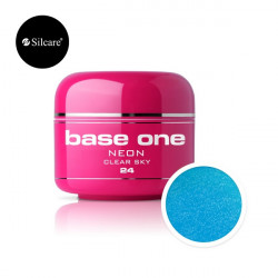 Gel color Base One Neon Clear Sky *24