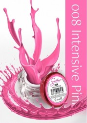 Gel color Semilac 008 Intensive Pink