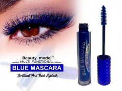 MULTI FUNCTIONAL BLUE MASCARA BRILLIANT AND THICK EYELASH