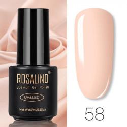 Oja Semipermanenta Rosalind 7ml - 58