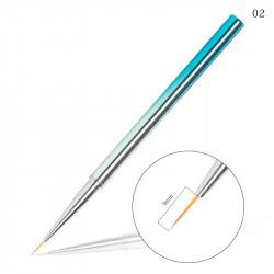 Pensula pentru pictura - linii foarte fine Blue