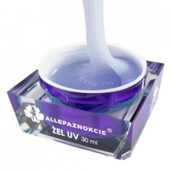 Perfect French Creamy White Gel UV 30 ml - Allepaznokcie (alb laptos)