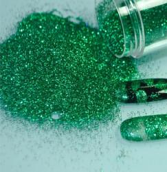 Sclipici fin verde