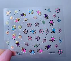 Sticker 3D FDY 231