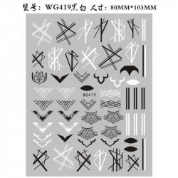 STICKER UNGHII - WG419