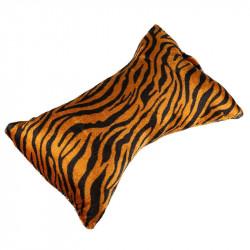 Suport mana pentru manichiura, textil, model zebra