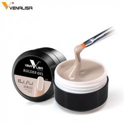 Builder Gel VENALISA 15 ML – Gel de construcție – Nude Pink v305