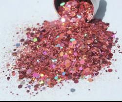 Glitter Bomb pink