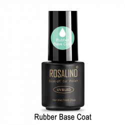 RUBBER BASE COAT ROSALIND 7ml