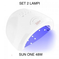 SET 2 Lampi Led / Uv Sun One Putere 24/48W
