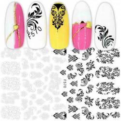 Sticker pentru decorarea unghiilor