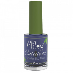 Ulei cuticule Miley, aroma Vanilla Sky Blue, 10 ml