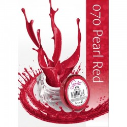 Gel color Semilac 070 Pearl Red