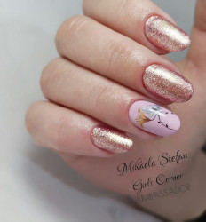Gel color Semilac 094 Pink Gold