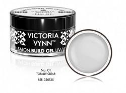 Gel UV/LED 01 Totally Clear Victoria Vynn 50ml